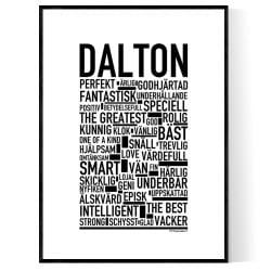 Dalton Poster