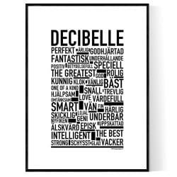 Decibelle Poster