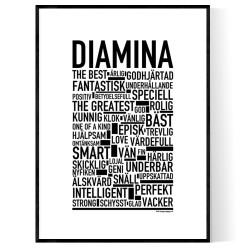 Diamina Poster
