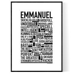Emmanuel Poster