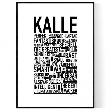 Kalle Poster