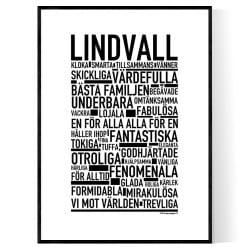 Lindvall Poster