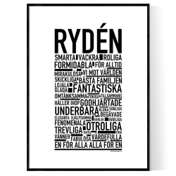 Rydén Poster