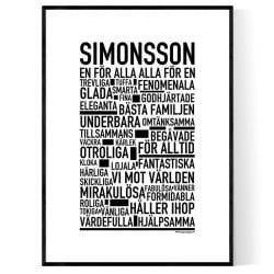 Simonsson Poster