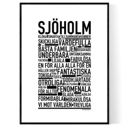 Sjöholm Poster