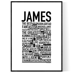 James Poster