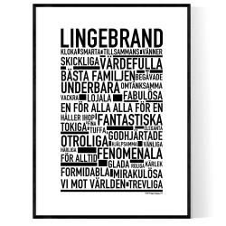 Lingebrand Poster