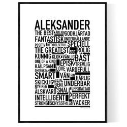 Aleksander Poster