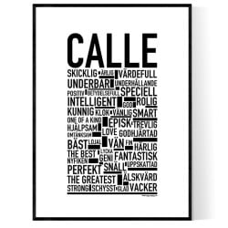 Calle Poster