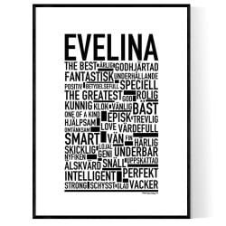 Evelina Poster