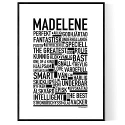 Madelene Poster