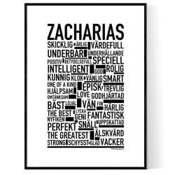 Zacharias Poster