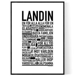 Landin Poster