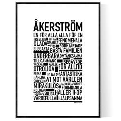 Åkerström Poster