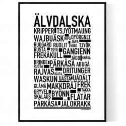 Älvdalska Poster