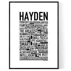 Hayden Poster