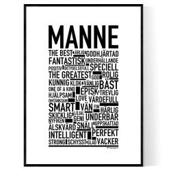Manne Poster