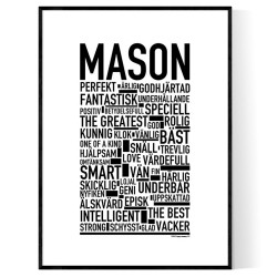 Mason Poster