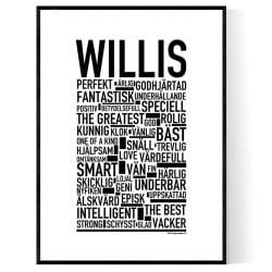 Willis Poster