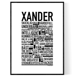 Xander Poster