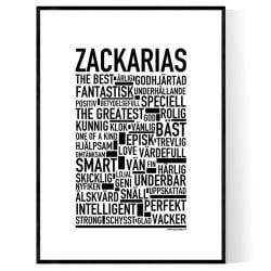 Zackarias Poster