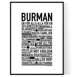 Burman Poster