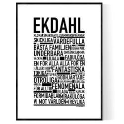 Ekdahl Poster