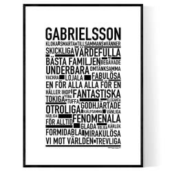 Gabrielsson Poster