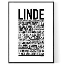 Linde Poster