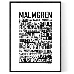 Malmgren Poster
