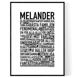 Melander Poster