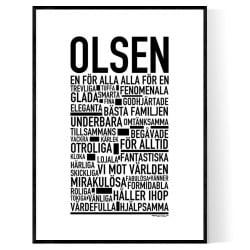 Olsen Poster