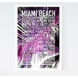 Miami Beach Exclusive Canvas