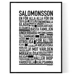 Salomonsson Poster