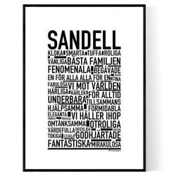 Sandell Poster