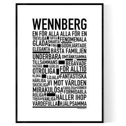 Wennberg Poster