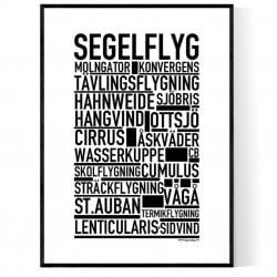 Segelflyg Poster
