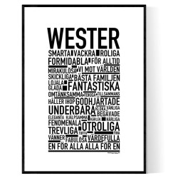 Wester Poster