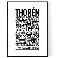 Thorén Poster