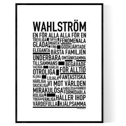 Wahlström Poster