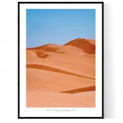 Imperial Sand Dunes Poster