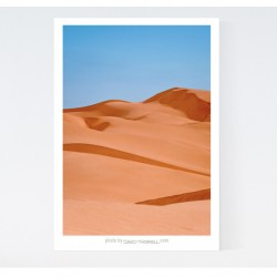 Imperal Sand Dunes Canvas