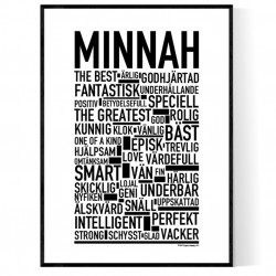 Minnah Poster
