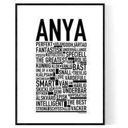 Anya Poster
