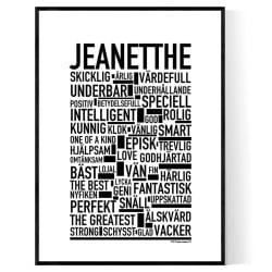 Jeanetthe Poster