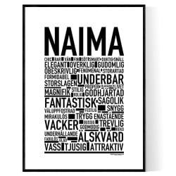 Naima Poster