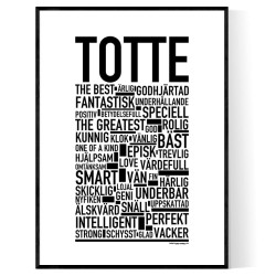 Totte Poster