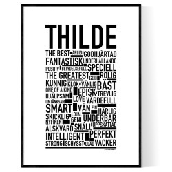 Thilde Poster