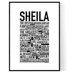 Sheila Poster