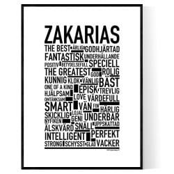 Zakarias Poster